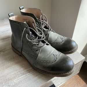 NWOT Leather Men Boots Size 12 Never Worn